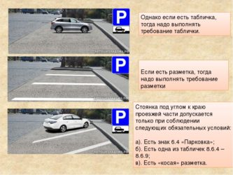 Является ли парковка проезжей частью?